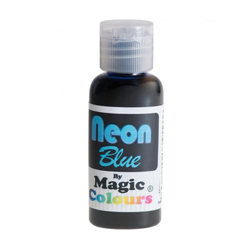 Magic Colours Food Colouring - Neon Blue - 32g