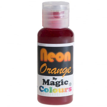 Magic Colours Food Colouring - Neon Orange - 32g