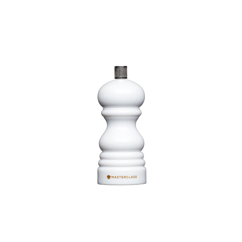 MasterClass Salt or Pepper Mill (12cm) - White