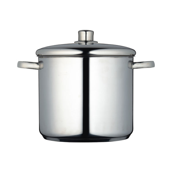MasterClass Stainless Steel 5.5 Litre Stainless Steel Stockpot 20cm