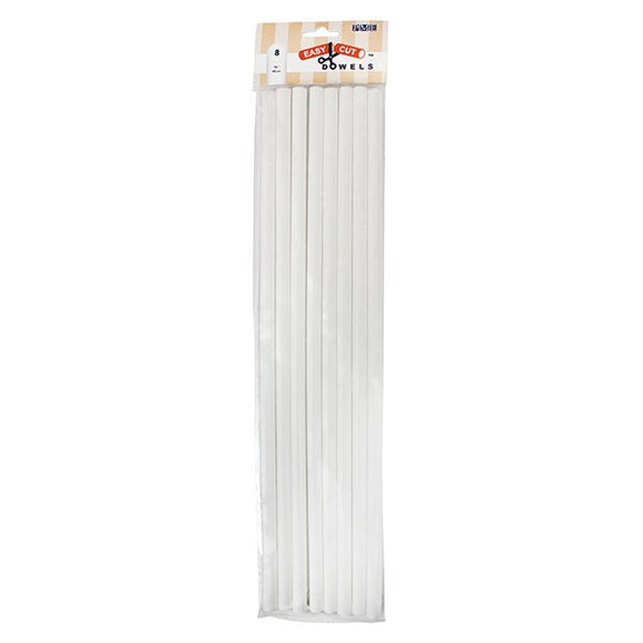 PME Easy Cut Cake Dowels 400mm (16'') - Pack of 8