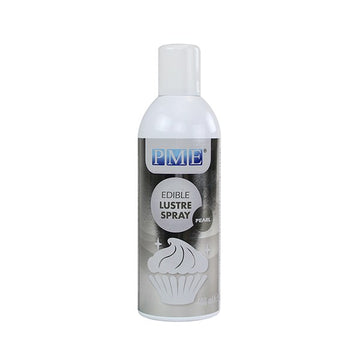 PME Edible Lustre Spray - Pearl 400ml Large Spray Can