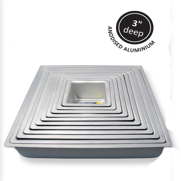PME Square Baking Cake Tin Pan 7'' x 3'' (178mm x 76mm)