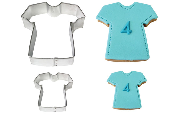 PME Stainless Steel Cookie Cutter Set Of 2 T Shirts / Sports Top