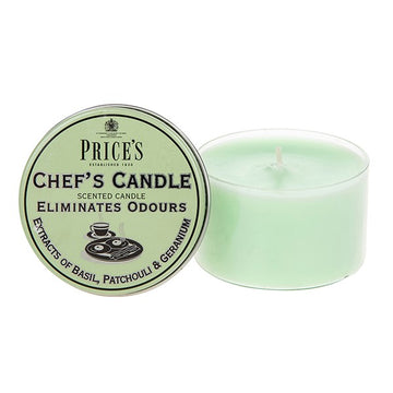 Price's Fresh Chef's Candle - Eliminates Cooking Odours