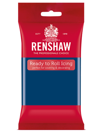 Renshaw Professional Sugar Paste Ready to Roll Icing - Sapphire Blue - 250g
