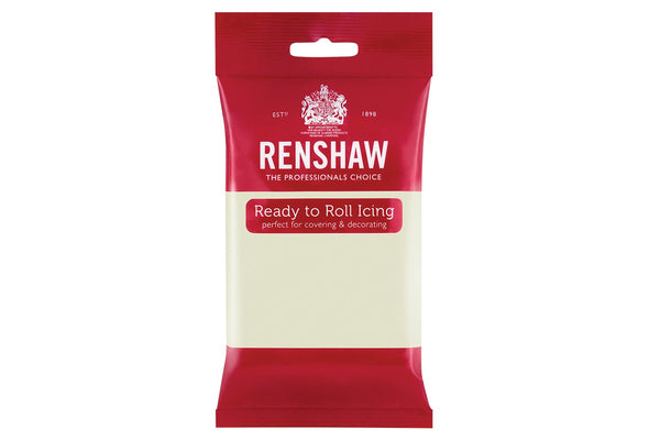 Renshaw Professional Sugar Paste Ready to Roll Icing - Celebration Ivory - 500g