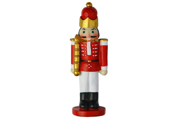Resin Christmas Toy Soldier Cake Decoration Topper
