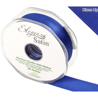 Royal Blue Satin Ribbon - 25mm