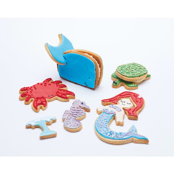 Sweetly Does It 3D Sea Life Under The Sea Cookie Cutter Set