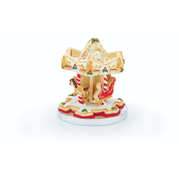 Sweetly Does It Stainless Steel 3D Carousel Merry Go Round Cookie Cutter Set