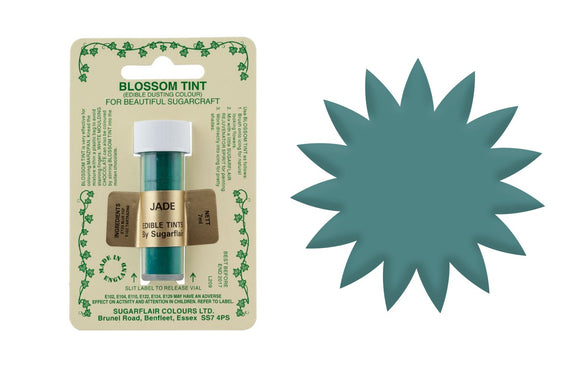 SUGARFLAIR EDIBLE BLOSSOM TINT FOOD COLOUR DUST - JADE