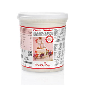 Saracino Modelling paste (Pasta Model) - White 1kg