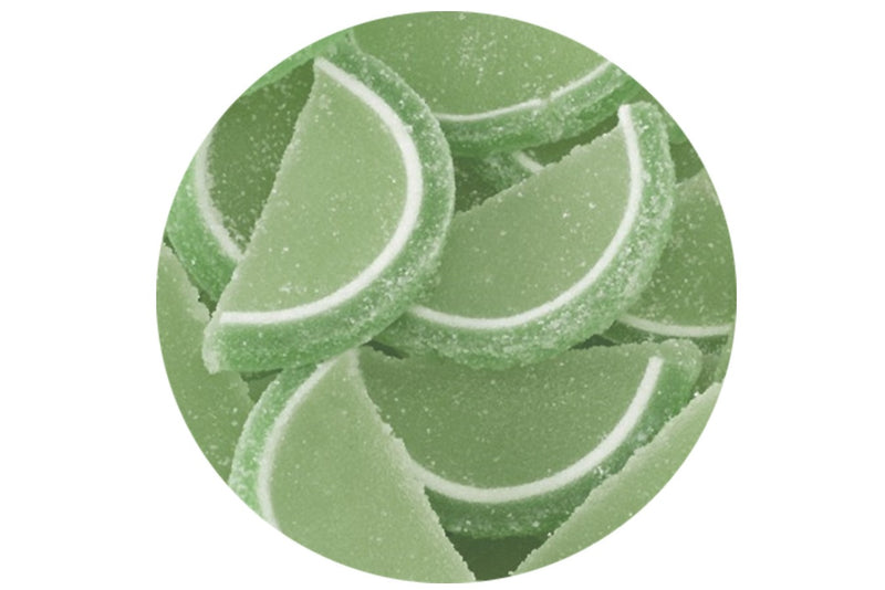 Scrumptious Edible Lime Slices - Retro Cake Toppers - The Cooks Cupboard Ltd