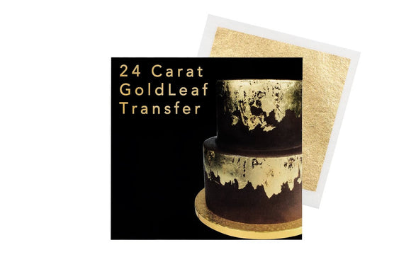 Sugarflair Gold Leaf Transfer 24 carat gold