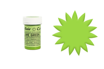 Sugarflair Paste Colour - Lime Green - 25g Concentrated Edible Food Colouring