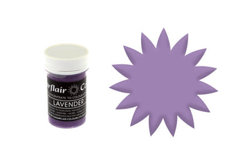 Sugarflair Spectral Pastel Paste Food Colour - Lavender 25g - Concentrated Edible Food Colouring