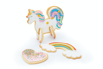 Sweetly Does It 3D Unicorn Cookie Cutters Cutter Set