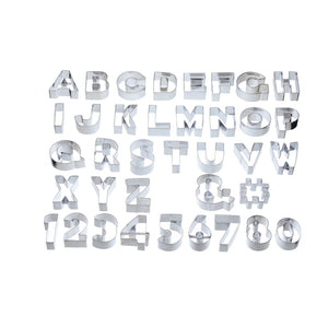 Sweetly Does It by Kitchen Craft ABC & 123, Alphabet & Number Cookie Cutter Set