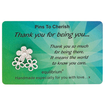 Equilibrium Cherished Pins Thank you