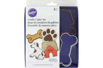 Wilton Pet Dog Biscuit Cookie Cutter Set