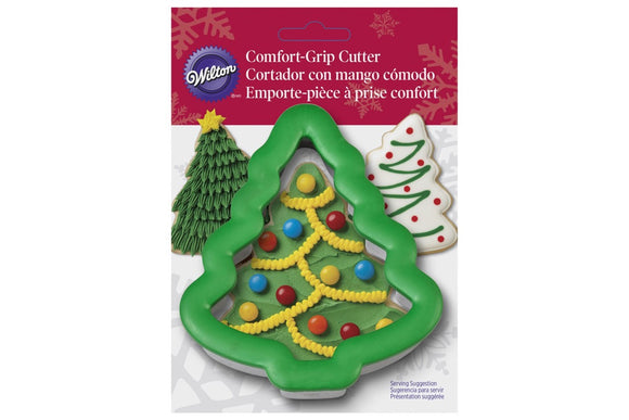 Wilton Christmas Tree Comfort Grip Cookie Cutter