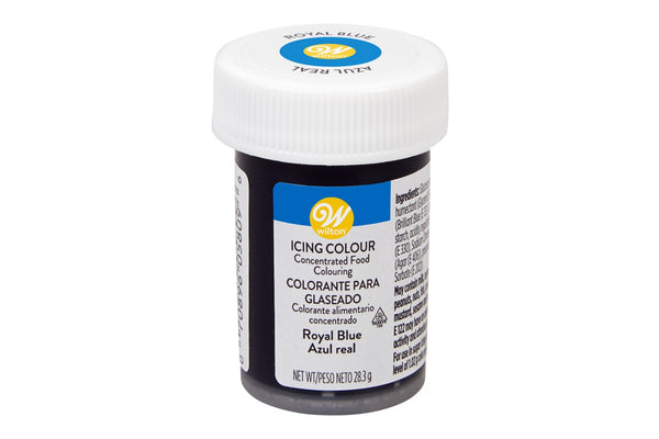 Wilton Concentrated Food Icing Colour Gel Colouring - Royal Blue