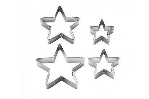 Wilton Cookie Cutters  Stars - Set of nesting star Cutters