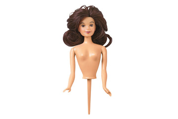 Wilton Teen Doll Cake Pick - Brunette / Brown Hair