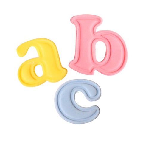 Cake Star Push Easy Mini Cutters - Lowercase - Alphabet Set 26 Piece