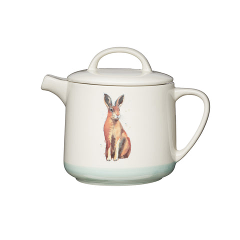 Apple Farm Teapot 1.4 Litre in Stoneware