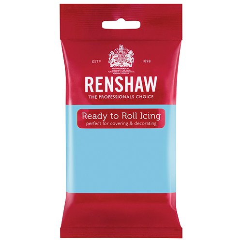 Renshaw Professional Sugar Paste Ready to Roll Icing - Baby Blue - 250g