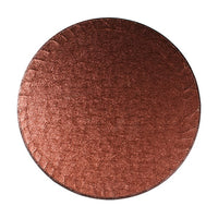 Round Cake Board Drum Brown 12""
