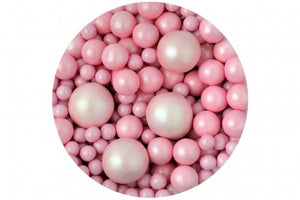 Sprinkletti bubbles Baby Pink edible balls