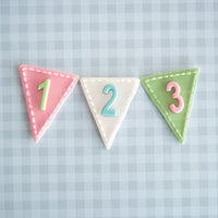 Katy Sue Moulds - Numbers Bunting
