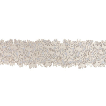 House of Cake Edible Butterfly Cake Lace - Pearl