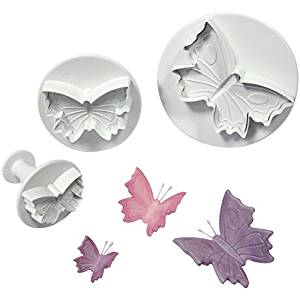 Cake Star Butterflies Plunger Set of 3