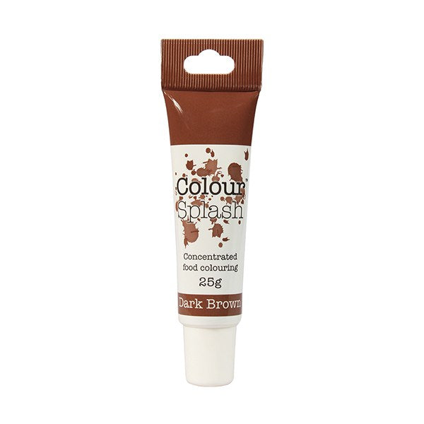 Colour Splash Gel - Dark Brown Colouring - 25g