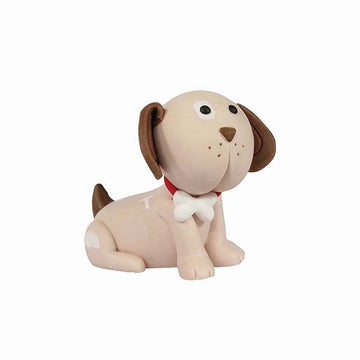 Cake Star Topper - Cute puppy Dog cake decoration