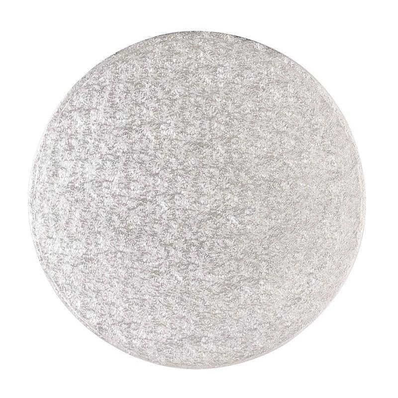 "Round Cake Drum Silver 17"" - The Cooks Cupboard Ltd"
