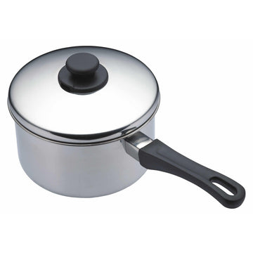 Share this product       KitchenCraft Stainless Steel 20cm Extra Deep Saucepan