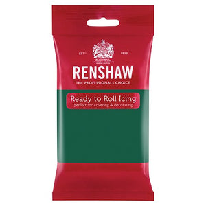 Renshaw Professional Sugar Paste Ready to Roll Icing - Emerald Green - 250g