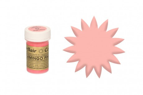 Sugarflair Paste Colours - Flamingo - 25g - The Cooks Cupboard Ltd