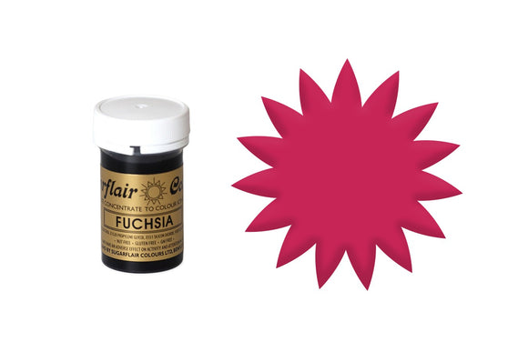 Sugarflair Paste Colours - Spectral Fuchsia 25g