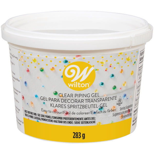 Wilton Piping Gel 283g Transparent - Easy to colour