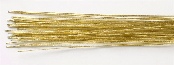 Gold Colour Florist Wire - 24 gauge (0.56mm)