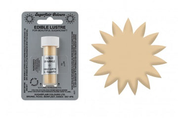 Sugarflair Edible Lustre Dust Gold Sparkle