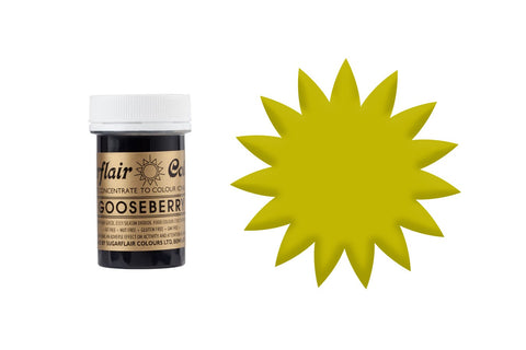 Sugarflair Paste Colours - Gooseberry 25g