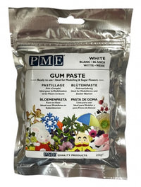 PME Gum Paste Sugarcraft Florist Paste - White - 200g