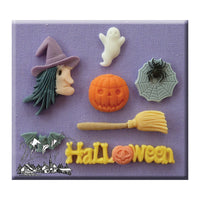 Alphabet Moulds- Halloween Silicone Mould